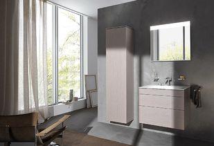 Maatwerk badkamermeubel en hoge kolomkast