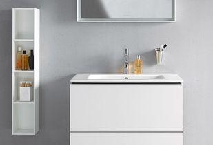 Wastafel kleine badkamer tijdloze uitstraling