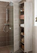 Kleine badkamer met inloopdouche - Kleine badkamer met inloopdouche