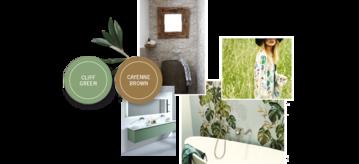 Natuurlijke badkamers - Banner - Meer badkamerinspiratie? [g]