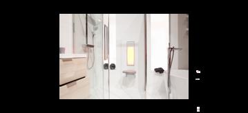 Maak van uw badkamer een thuisspa - Banner - sunshower actie