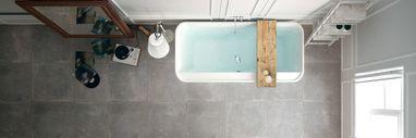 Collectie - Tegels in de badkamer