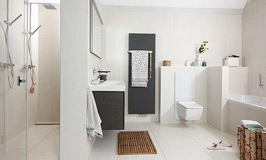 Luxe badkamers - Tijdloze witte badkamer