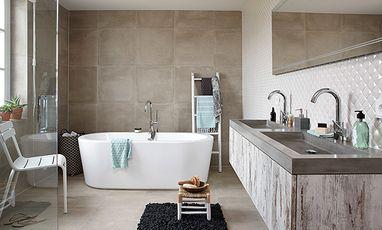 Luxe badkamers - Landelijke badkamer