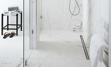 Luxe badkamers - Marmeren badkamer