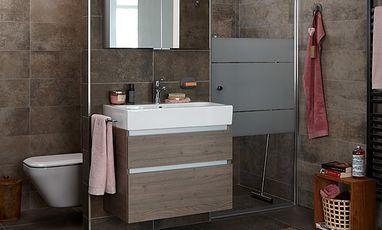Kleine badkamers - Kleine comfort badkamer