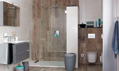 Natuurlijke badkamers - Houtlook badkamer
