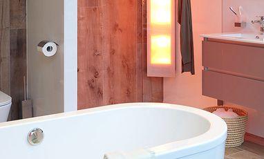 Natuurlijke badkamers - Scandinavische badkamer