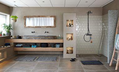 Natuurlijke badkamers - Teak badkamer