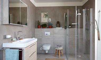 Moderne badkamers - Betonstuc badkamer