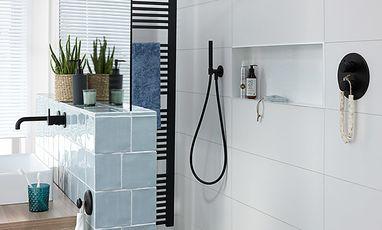 Kleine badkamers - Trendy badkamer