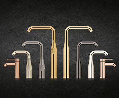 Grohe douchesystemen - Grohe Essence New Colour badkamerkranen