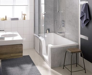 Inloopdouche Met Douchedeur : Een hsk douchecabine en douchewand voor iedere badkamer u2013 baden
