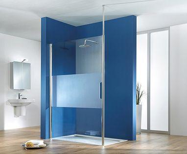 Glaswand Voor Inloopdouche : Minder schoonmaken met hsk edelglas in uw douchewand u2013 baden