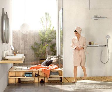 Natuurlijke Badkamermeubels - Polaroid-badkamer-thuisspa
