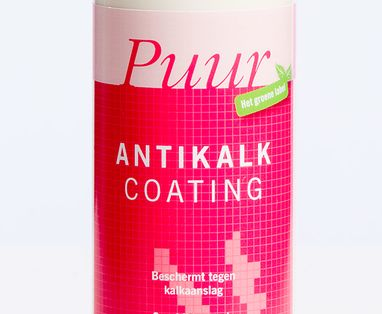 Douche reiniger - Antikalk coating