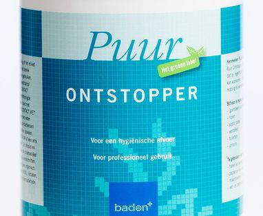 Baden+ schoonmaakmiddelen - Ontstopper