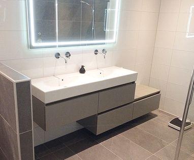 Inspiratie - Moderne badkamer in Deventer
