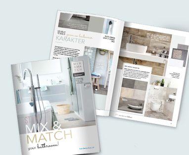 Douchen - Mix & Match huismerkbrochure