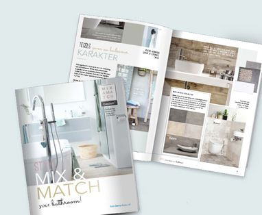 Toilet - Mix & Match huismerkbrochure
