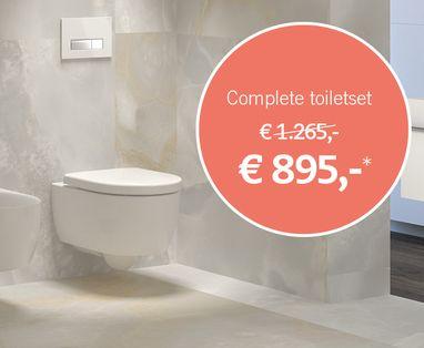 Acties - Actie complete toiletset