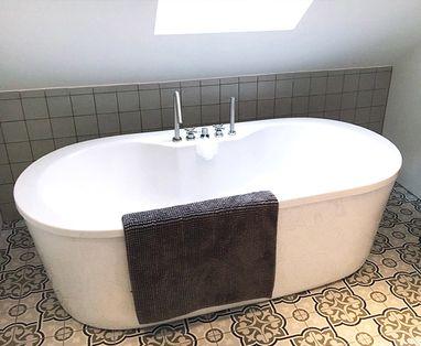 Inspiratie - Gerenoveerde badkamer en toilet in Nieuwerbrug