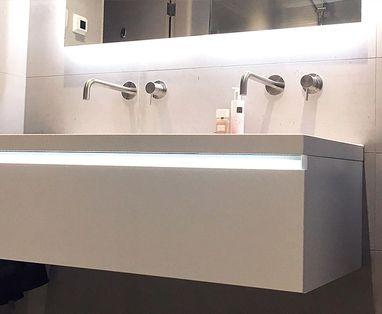 Inspiratie - Moderne badkamer in Dokkum