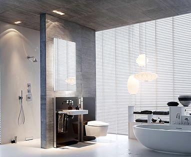 Badkamer installatie - Polaroid WC verbouwen