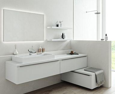 Inspiratie - Slimme badkamerindeling voor lastige ruimtes