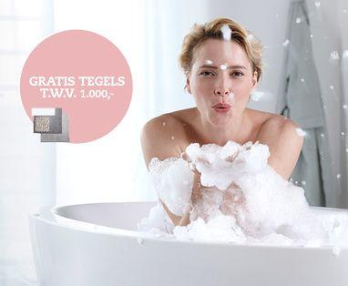 Acties - Gratis tegels bij een complete badkamer