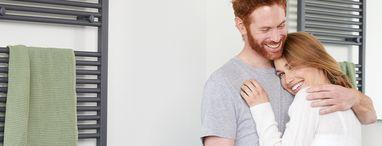 Scandinavische woonstijl in de badkamer - Reviewblok