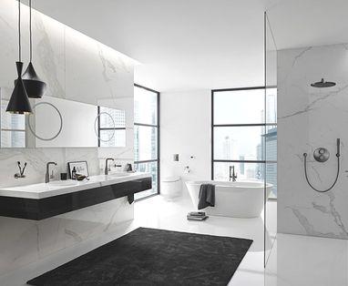Inspiratie - Grote badkamer indelen