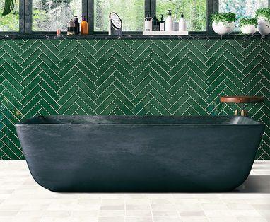 Trends - Kleur in de badkamer