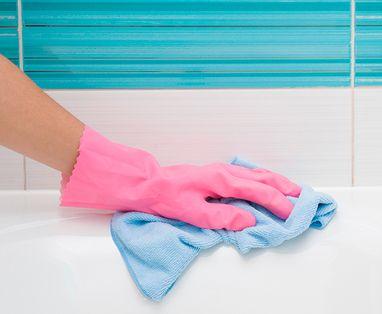 Schoonmaken - Bad schoonmaken
