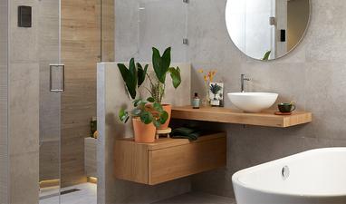 Moderne badkamers - Wellness badkamer in scandinavische stijl