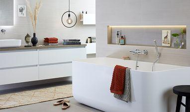 Moderne badkamers - Badkamer in hotel-stijl