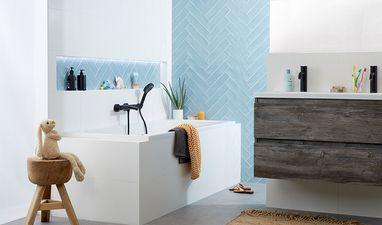 Moderne badkamers - Hippe badkamer voor het gezin