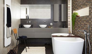 Luxe badkamers - Badkamer met twee douches