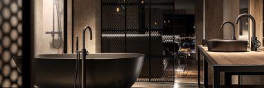 Badkamerstijlen - Industriële badkamers