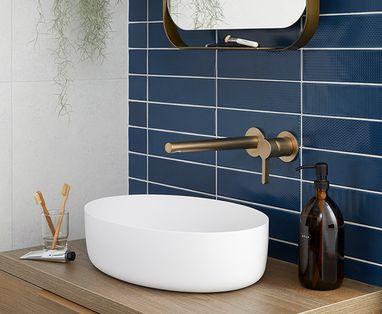 Inspiratie - Trend: blauw in de badkamer