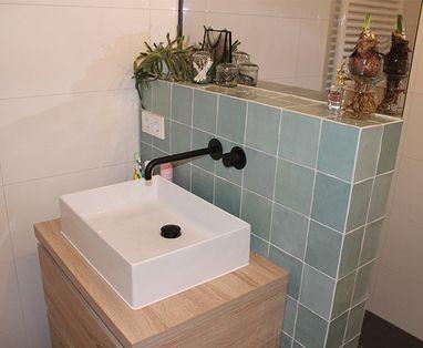 Inspiratie - Sfeervolle badkamer in Den Bosch