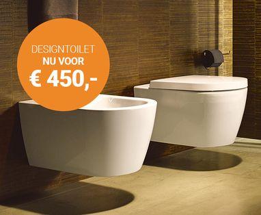 Acties - Duravit toilet nu voor € 450,-