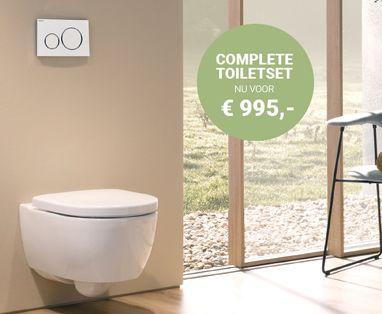 Acties - Geberit DuoFresh toiletset