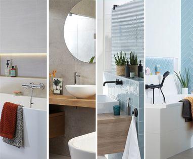 Ontwerpen - 5 badkamer voorbeelden: moderne badkamer