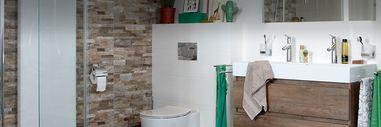 Badkamerstijlen - Natuurlijke badkamers