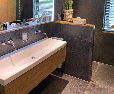 Binnenkijkers - Binnenkijken: Praktische badkamer in Wijchen