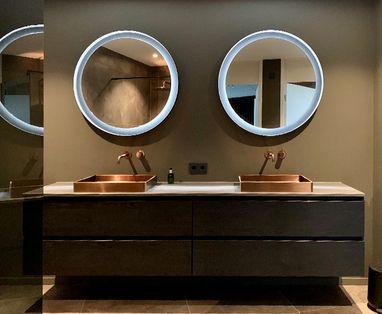 Inspiratie - Hotel chic badkamer in Den Bosch