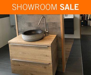 Showroom Sale - Showroomsale badmeubel hout
