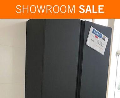 Showroom Sale - Showroomsale Badkamerkast mat grijs