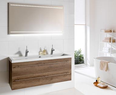 Ontwerp - Scandinavische woonstijl in de badkamer